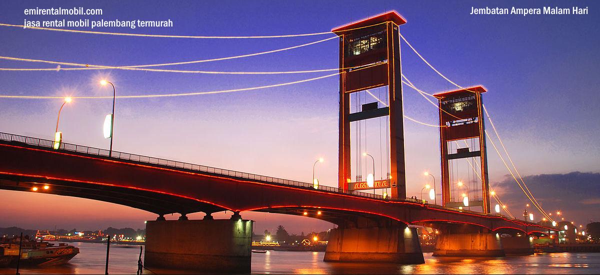 Butuh kendaraan untuk menikmati indahnya kota Palembang ?