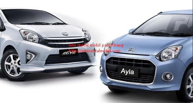 Sewa Mobil Agya Alya Palembang