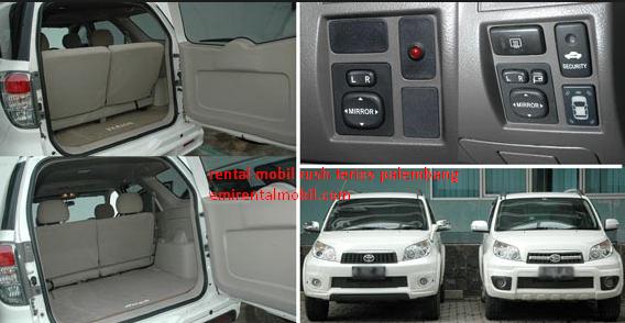 Rental Mobil Terios Palembang